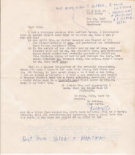 BEAT author FIELDING DAWSON - 14 SIGNED LETTERS to RUDY WURLITZER + COLLAGE, &C.