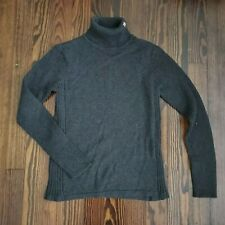Ralph Lauren Polo Jeans Co Knit Turtleneck Sweater Pullover Womens S Prep Gray