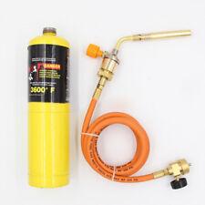 1x Mapp Gas   Ignition Plumbing Turbo Torch W/ Hose Solder Propane Welding ~