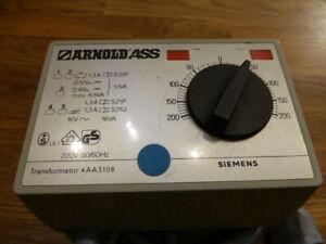 Arnold Transformator Trafo 4AA2608 ohne OVP