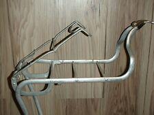 1950s Vintage Schwinn Aluminum Front Rat Trap Book Bike Rack