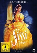 Sissi Trilogie - Special Edition Mediabook - Romy Schneider: Sissi 1-3 [Blu-ray]