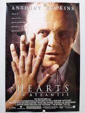 HEARTS IN ATLANTIS  Anthony Hopkins - Original Movie Poster - 2001  Rolled DS C9