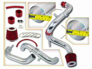 BCP RED 06-11 Honda Civic EX/LX/DX 1.8L Cold Air Intake Racing System + Filter