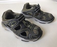 Stride Rite Baby Boy Shoes Sandals 10 M Gus Leather Green Washable