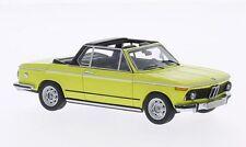 "BMW 2002 (E10) Baur ""Yellow"" 1974 (Neo Scale 1:43 / 43284)"