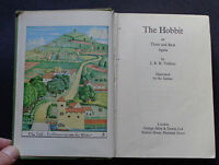 THE HOBBIT or THERE AND BACK AGAIN by J.R R Tolkien / Fantasy / Childrens / 1968
