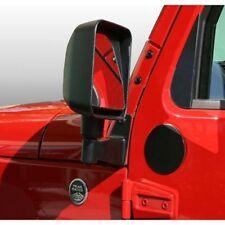 New Jeep Wrangler Jk 07-17 Mirror Relocation Filler Plates Black Pair 11025.05