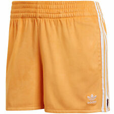 adidas Originals 3 Stripes Shorts Velours Damen Kurze Hose Sporthose Turnhose