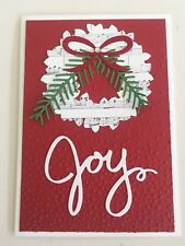 Peace On Earth Traditional Christmas handmade card - Stampin up