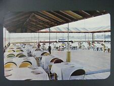 City Island New York NY Ryan's Marine Deck Restaurant Vtg Color Postcard 1950s