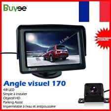 """4.3"""" TFT LCD Voiture Moniteur + Etanche Camera de Recul Vision Nuit + Cable"""