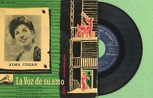 ALMA COGAN / Mam Enseñame / LA VOZ DE SU AMO 7EML 13.106 Press Spain EP 1956 VG+