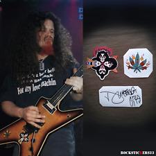 Dimebag Darrell Dean ML guitar stickers Pantera decal kiss band +vinyl autograph