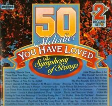 THE SYMPHONY OF STRINGS 50 melodies you have loved 50DA 307 DOUBLE LP PS NM/EX