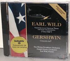 CHESKY CD 98: Earl Wild, piano - Gershwin Conc. In F, Doo Dah - OOP 1993 SEALED
