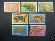 SERIE 7 ANIMAUX  D'AUSTRALIE  GUINEE EQUATORIALE