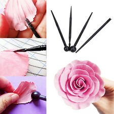 4Pcs Cake Modelling Tools Set Fondant Cupcake Bakeware Carve Pen Mould Mold Tool