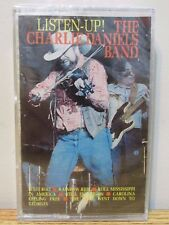 LISTEN UP THE CHARLIE DANIELS DANIELS BAND AUDIO CASSETTE TAPE