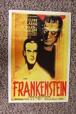 Frankenstein Lobby Card Movie Poster #3 Boris Karloff