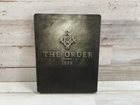 The Order: 1886 SteelBook Edition (PlayStation 4 / PS4) Tested - Free Shipping!