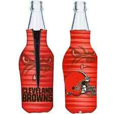 Cleveland Browns 2015 Hunter Mfg 12oz Bottle Coolie Free Ship
