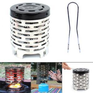 NEW Portable Bivvy Heater Carp Fishing Mini Bivvy Gas Stove Warmer Bank Life