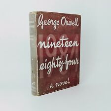 Nineteen Eighty-Four - George Orwell - First Edition - 1st/1st 1949