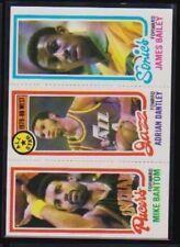1980-81 TOPPS BASKETBALL # 34 (115 BANTOM 6 DANTLEY 227 BAILEY) NM