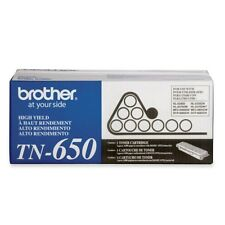 Brother TN650 High Yield Black Toner Cartridge -Black -Laser - 8000 Page - 1Each