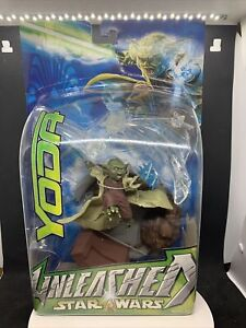 Star Wars: Unleashed Yoda Figure Statue Hasbro 2003 Brand New Sealed!