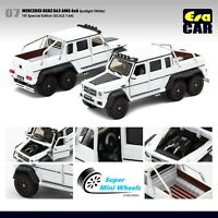 ERA Car 1/64 Mercedes-Benz G63 AMG 6x6 Spotlight 1st Special Edition (White) #7