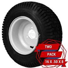 2 Pack Rear Engine Rider Rear Wheels 16 X .50 X 8 Fits Snapper 7052270 (9151)