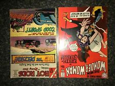 Wonder Woman #187 DC Comics Hot Rods #79 Charlton Comics lot of 2 vg condition