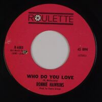 RONNIE HAWKINS: Who Do You Love / Bo Diddley US Roulette 45 R&B Classic Rock MP3