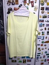 Autograph Short Sleeve Plus Size 100% Cotton Tops & Blouses for Women