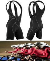 Men's Women Cycling Bicycle Bike Bib Shorts Padded Braces 3D ✿FL Pants S~XXL Jо