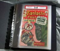 Fantastic Four #16 CPA 4.08 avg grade Complete comic book graded in Single Pages