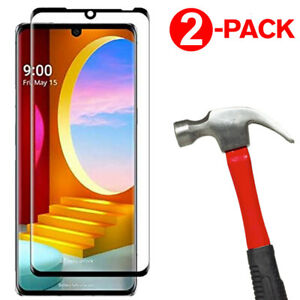 [2-Pack] 3D Full Cover Tempered Glass Screen Protector for LG Velvet / Velvet 5G
