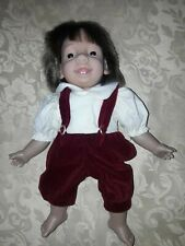 Künstlerpuppe tedesche bambola  collezione 3 bambole