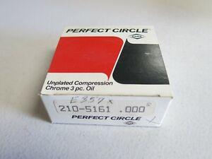 Perfect Circle E357X Piston Ring Set fits Chevrolet, Isuzu, Plymouth 1972 - 1982