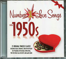 NUMBER 1 LOVE SONGS OF THE 1950s CD - MAGIC MOMENTS, LIVING DOLL & MORE