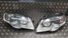 VW PASSAT B6 PAIR XENON HEADLIGHTS 3C0941752E 3C0941751E RHD #GY40