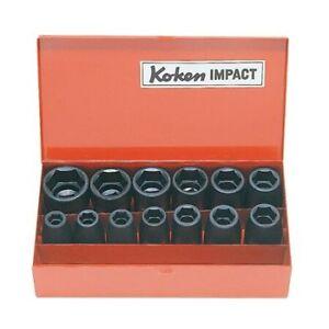"""Koken Tools KO14241A 12pc 1/2"""" Dr AF Impact socket set *Lifetime warranty*"""