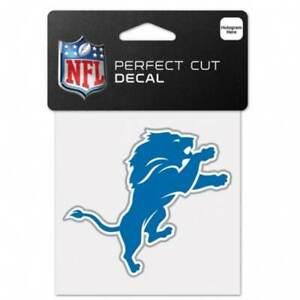 Detroit Lions Logo 4 Inch Die Cut Decal