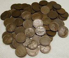 2 ROLLS OF 1910 P PHILADELPHIA LINCOLN WHEAT CENTS FROM PENNY COLLECTION
