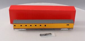 S. Soho & Co. 0484 HO Scale BRASS Union Pacific #6000 Baggage-Dormitory Car LN