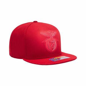 SL Benfica Premium Blue Flat Peak Snapback Elite Baseball Hat Official