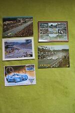 5 cartes postales des 24 heures du Mans