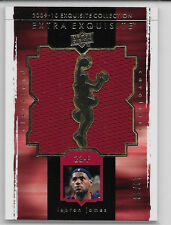 2009-2010 UD EXQUISITE LEBRON JAMES EXTRA EXQUISITE JUMBO JERSEY 19/50